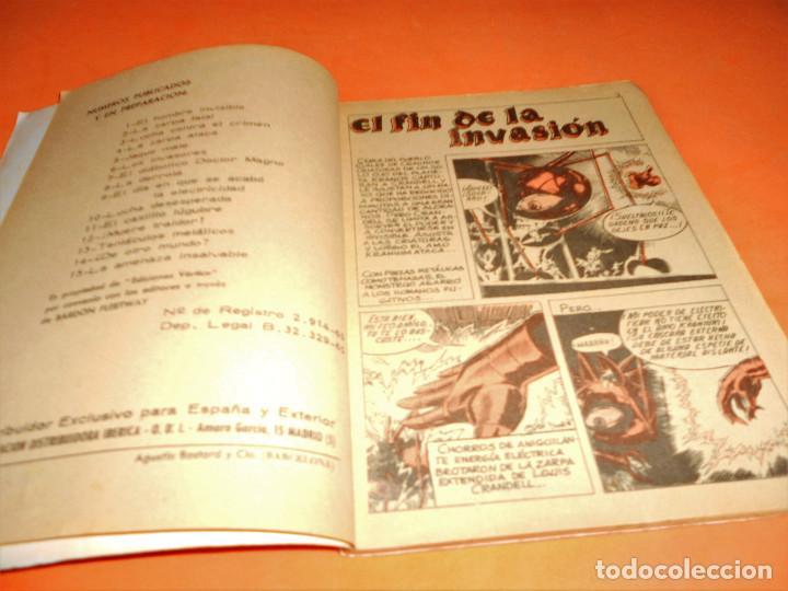 Cómics: ZARPA DE ACERO Nº 17. EL FIN DE LA INVASION. HISTORIAS GRAFICAS PARA ADULTOS. VERTICE. BUEN ESTADO - Foto 3 - 115552431