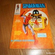 Cómics: SPIDERMAN EL HOMBRE ARAÑA Nº 4 AMENAZA ELECTRONICA VERTICE MUY BUEN ESTADO. Lote 115552663