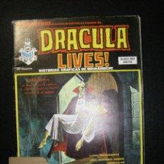 Cómics: VÉRTICE VOL. 1 ESCALOFRÍO Nº 24 DRACULA LIVES Nº 6. Lote 115595739