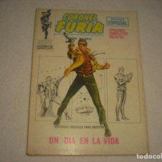 Cómics: CORONEL FURIA N° 7 . UN DIA EN LA VIDA .. Lote 115679819