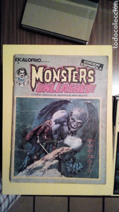 MONSTERS UNLEASHED (Tebeos y Comics - Vértice - Terror)