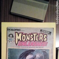 Cómics: MONSTERS UNLEASHED. Lote 115727383