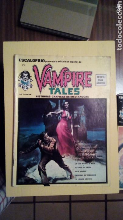 VAMPIRE TALES (Tebeos y Comics - Vértice - Otros)