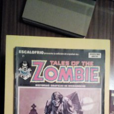 Cómics: TALES OF THE ZOMBIE. Lote 115730576