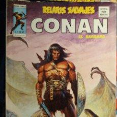 Cómics: RELATOS SALVAJES, Nº 47, CONAN. Lote 116109383