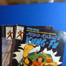 Cómics: RELATOS SALVAJES. JUDO-KARATE-KUNG FU. MUNDI COMICS VOLUMEN 2 NÚMEROS 1 Y 8. EDICIONES VÉRTICE 1981. Lote 116155219