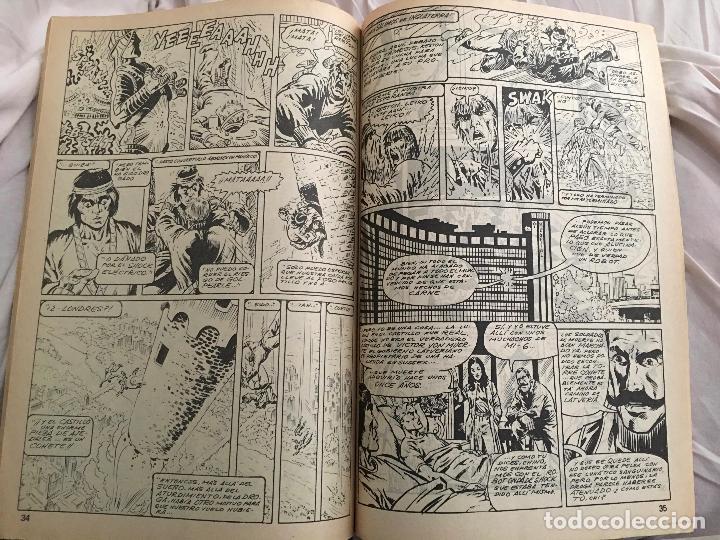 Cómics: Shang Chi. Ediciones Vertice Vol. 1 nº 48. Relatos Salvajes. LA TACTICA FENIX. - Foto 3 - 116254231