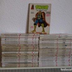 Cómics: THOR , COLECCION COMPLETA VERTICE VOLUMEN 1 ¡¡¡¡MUY BUEN ESTADO !!!! CON COMICS RENOVADOS. Lote 116368339