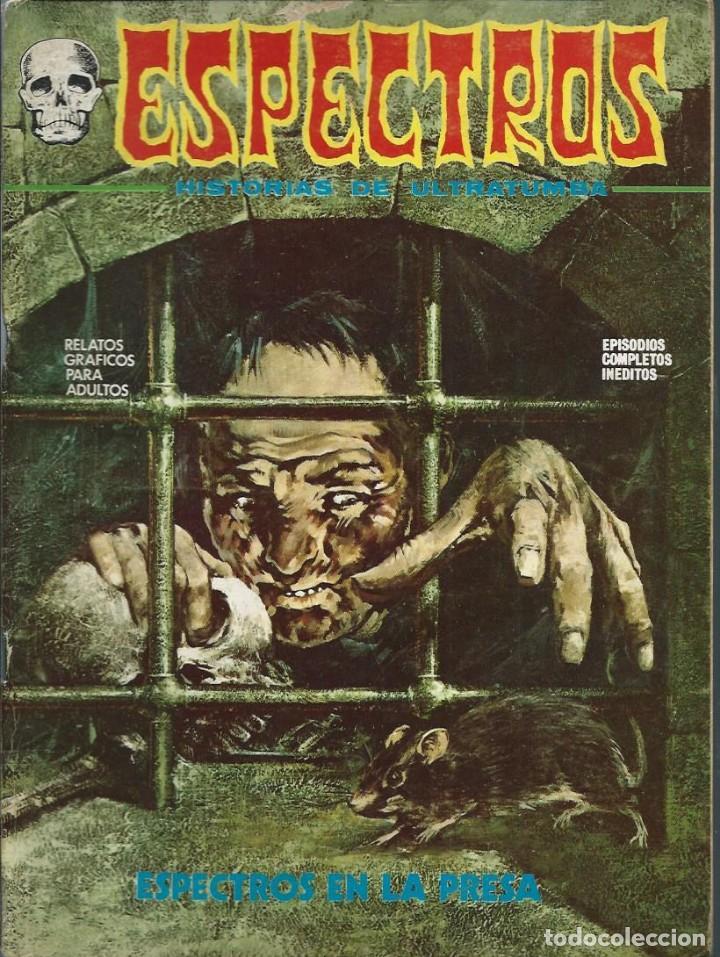 ESPECTROS Nº 9 - ESPECTROS EN LA PRESA - VERTICE 1973 - BIEN CONSERVADO (Tebeos y Comics - Vértice - Terror)