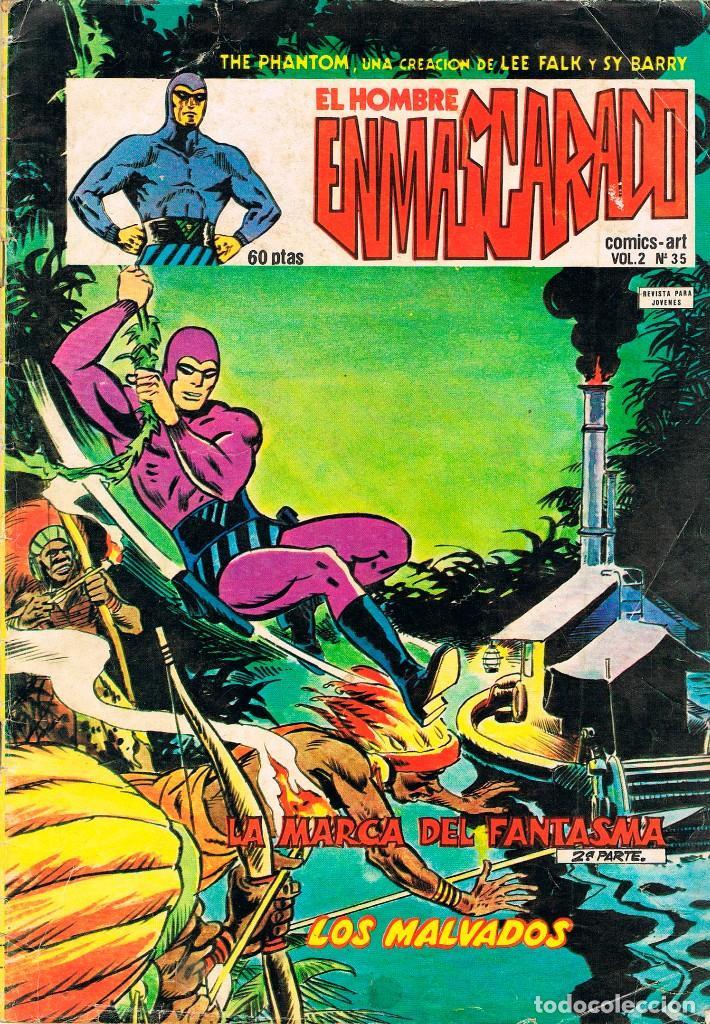 EL HOMBRE ENMASCARADO VOLUMEN 2 Nº 35 - AÑO 1981 (Tebeos y Comics - Vértice - Hombre Enmascarado)