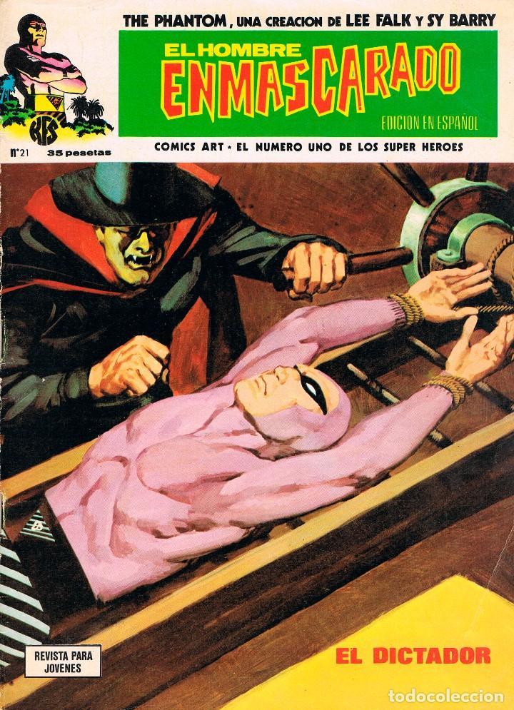 EL HOMBRE ENMASCARADO Nº 21, AÑO 1974. (Tebeos y Comics - Vértice - Hombre Enmascarado)
