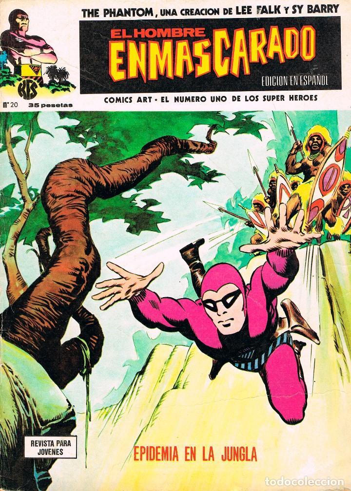 EL HOMBRE ENMASCARADO Nº 20, AÑO 1974. (Tebeos y Comics - Vértice - Hombre Enmascarado)