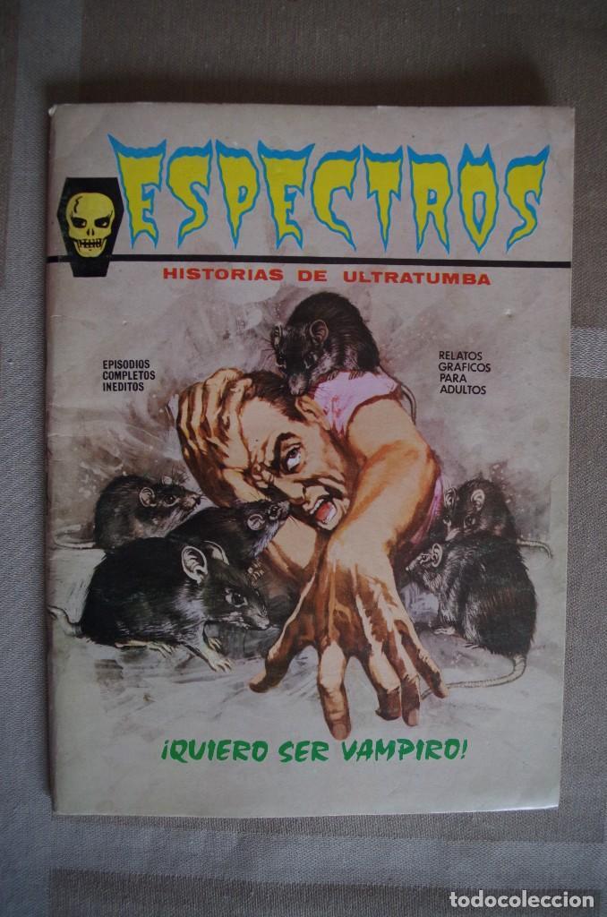 ESPECTROS Nº 5 - VERTICE - AÑO 1972 (Tebeos y Comics - Vértice - Terror)