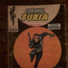 Cómics: LOTE CORONEL FURIA 6 NºS-VERTICE-COMPLETOS-BUEN ESTADO-1969. Lote 116724027