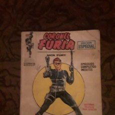 Cómics: LOTE CORONEL FURIA 9 NºS-VERTICE-BUEN ESTADO-1969. Lote 116725999