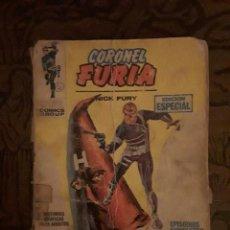 Cómics: CORONEL FURIA-VERTICE-DOS NUMEROS-DEFECTUOSOS-1969. Lote 116726715