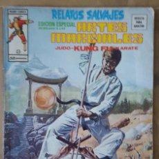 Cómics: RELATOS SALVAJES - ARTES MARCIALES - SHANG CHI - PUÑO DE HIERRO - NÚMERO 25. Lote 116752611