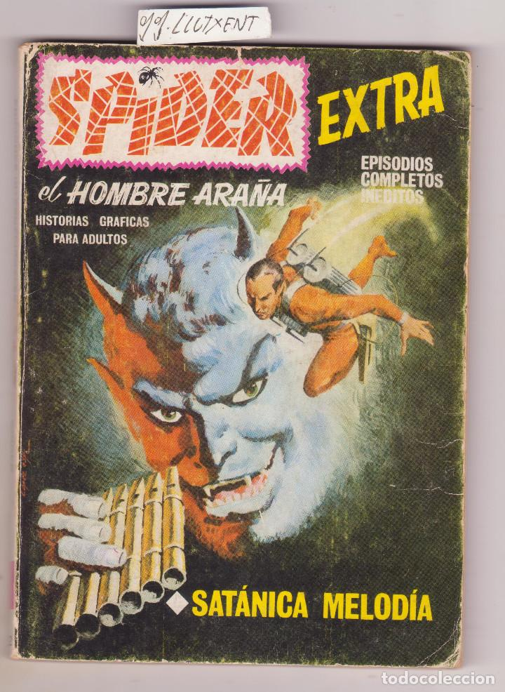 SPIDER Nº 22 VERTICE TACO SATANICA MELODIA (Tebeos y Comics - Vértice - V.1)