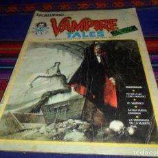 Cómics: VÉRTICE VOL. 1 ESCALOFRÍO Nº 1 VAMPIRE TALES Nº 1. 1973. 30 PTS. MORBIUS.. Lote 116997439
