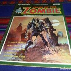 Cómics: VÉRTICE VOL. 1 ESCALOFRÍO Nº 21 TALES OF THE ZOMBIE Nº 6. 1974. 30 PTS. BUEN ESTADO.. Lote 116997647