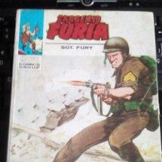 Cómics: SARGENTO FURIA N-21 COMPLETO 128 PAGINAS. Lote 117001815