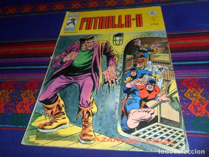 VÉRTICE VOL. 3 PATRULLA X Nº 18 CON FRANKENSTEIN. 50 PTS. AZAROSO FINAL. (Tebeos y Comics - Vértice - Patrulla X)