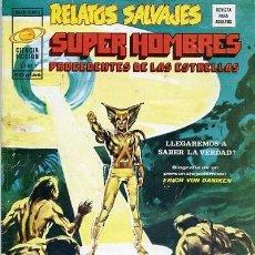 Cómics: COMIC RELATOS SALVAJES SUPER HOMBRES PROCEDENTES DE LAS ESTRELLAS VOL 1 Nº7. Lote 117043487