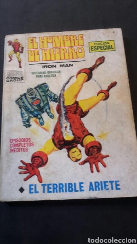 EL HOMBRE DE HIERRO N°17, VERTICE (Tebeos y Comics - Vértice - Hombre de Hierro)
