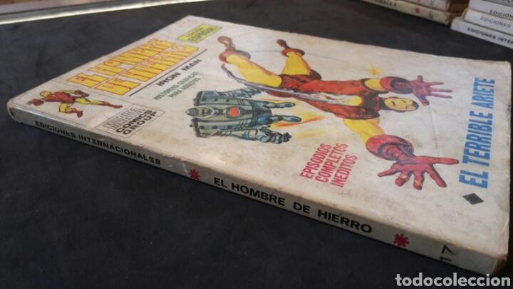 Cómics: El hombre de hierro n°17, vertice - Foto 4 - 117283014