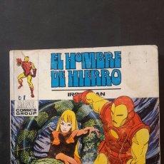 Cómics: EL HOMBRE DE HIERRO N°26, VERTICE 1973. Lote 117283502