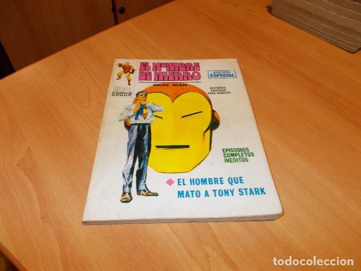 EL HOMBRE DE HIERRO V.1 Nº 12 (Tebeos y Comics - Vértice - Hombre de Hierro)