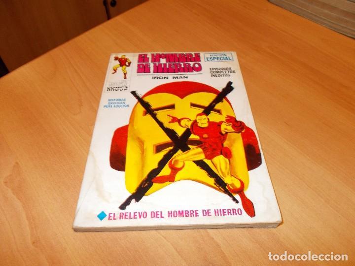 EL HOMBRE DE HIERRO V.1 Nº 9 (Tebeos y Comics - Vértice - Hombre de Hierro)
