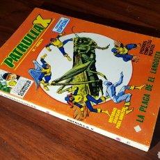 Comics: LA PATRULLA X 11 EXCELENTE ESTADO 25 PTS VERTICE. Lote 117411678