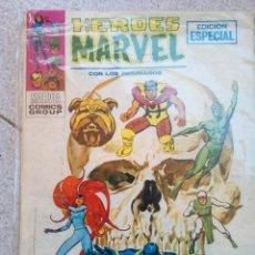 Cómics: HEROES MARVEL N°6 CON LOS INHUMANOS VÍSPERAS DE MUERTE, VERTICE. Lote 97840903