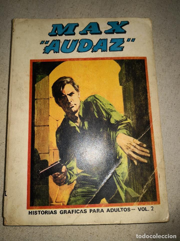 MAX AUDAZ HISTORIAS GRAFICAS PARA ADULTOS VOL 2 (Tebeos y Comics - Vértice - Otros)