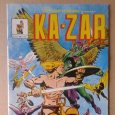 Cómics: HÉROES MARVEL PRESENTA: KA-ZAR N°3-81. MUNDICOMICS ADULTOS. EDICIONES VÉRTICE, 1981.. Lote 117734896