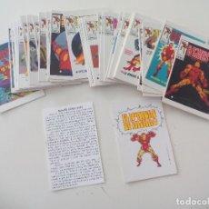 Cómics: HOMBRE DE HIERRO IRON MAN : COLECCION DE 40 PORTADAS LOPEZ ESPI PARA VERTICE ED. LIMITADA TEBEOVIVO. Lote 220004371