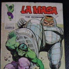 Cómics: CÓMIC - LA MASA Nº 32 - VERTICE VOL.1 ¡DESTRUCCIÓN! ¡DESTRUCCIÓN! - BUEN ESTADO, VER FOTOS. Lote 117806075
