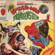 Cómics: SPIDERMAN Y FRANKENSTEIN - MUNDI COMICS. Lote 117994163
