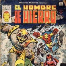 Cómics: HOMBRE DE HIERRO - MUNDI COMICS Nº 2 VOL. 65. Lote 117994251