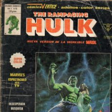 Cómics: THE RAMPAGING HULK - MUNDI COMICS VOL. 1 Nº 15. Lote 117994359