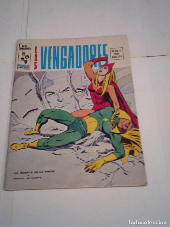 LOS VENGADORES - VERTICE - VOLUMEN 2 - COMPLETA - 50 NUMEROS - MUY BUEN ESTADO -CJ 83 - GORBAUD (Tebeos y Comics - Vértice - Vengadores)
