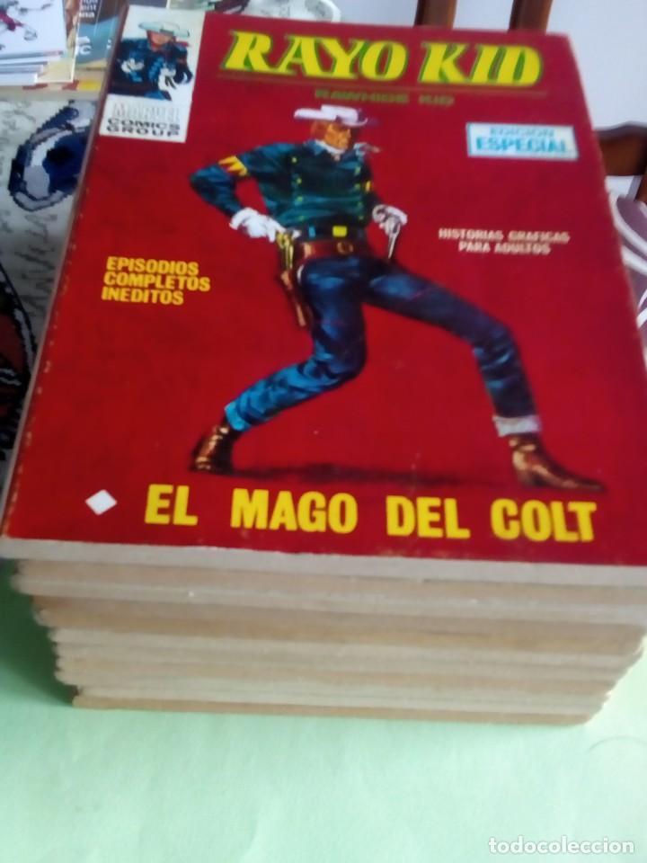 RAYO KID N-3 AL 13 LEER DESCRIPCION (Tebeos y Comics - Vértice - V.1)