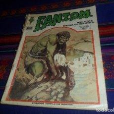 Cómics: VÉRTICE VOL. 1 FANTOM Nº 34. 1974 25 PTS. RARO. REGALO FANTOM Nº 9.. Lote 118158259