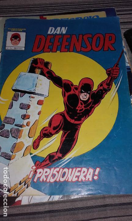 DAN DEFENSOR MUNDICOMICS 1981. VERTICE Nº 1 (Tebeos y Comics - Vértice - Dan Defensor)