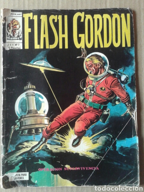 FLASH GORDON, VOLUMEN 1 - N°7: OPERACIÓN SUPERVIVENCIA. COLECCIÓN COMICS ART DE EDICIONES VÉRTICE (Tebeos y Comics - Vértice - Flash Gordon)
