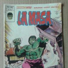 Cómics: LA MASA, VOLUMEN 3 - N°39: ¡EL ESLABÓN PERDIDO! COLECCIÓN MUNDI COMICS DE EDICIONES VÉRTICE, (1979).. Lote 118688159