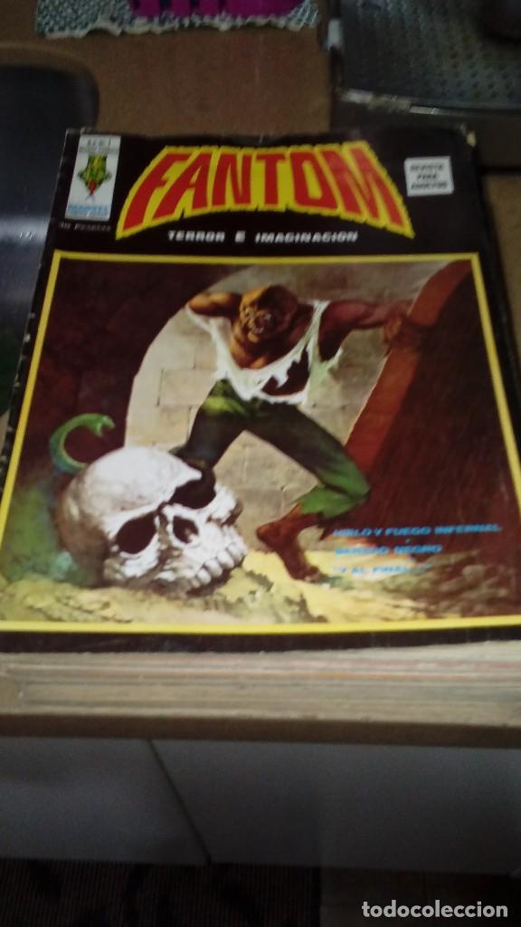 FANTOM VOL,2 COMPLETA 23 NÚMEROS. (Tebeos y Comics - Vértice - Terror)