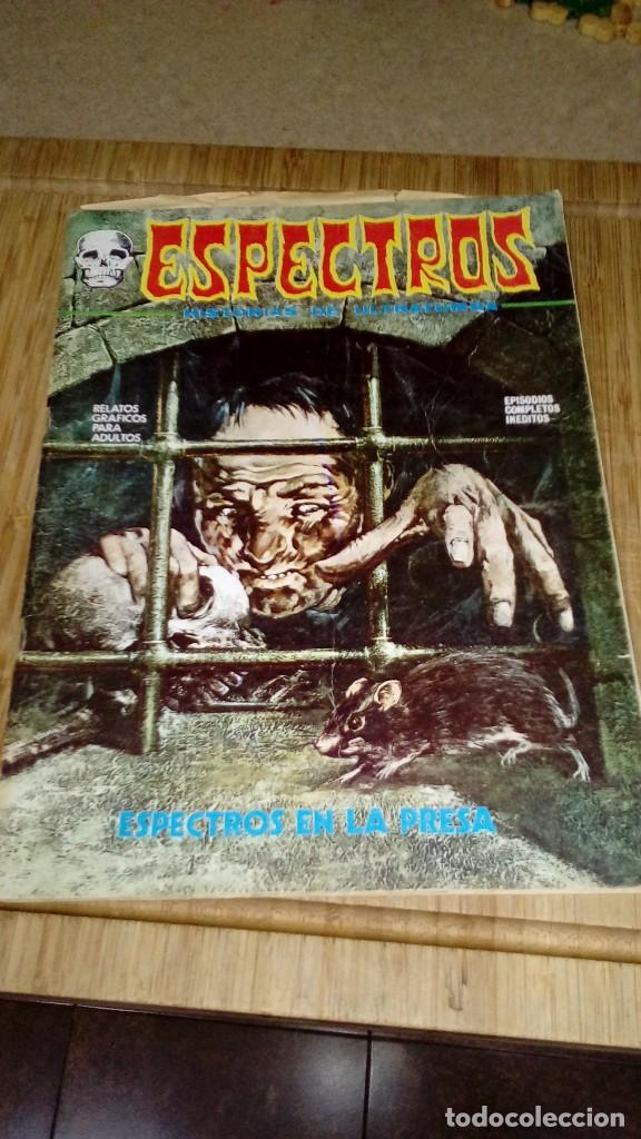 ESPECTROS Nº 9 (Tebeos y Comics - Vértice - Terror)