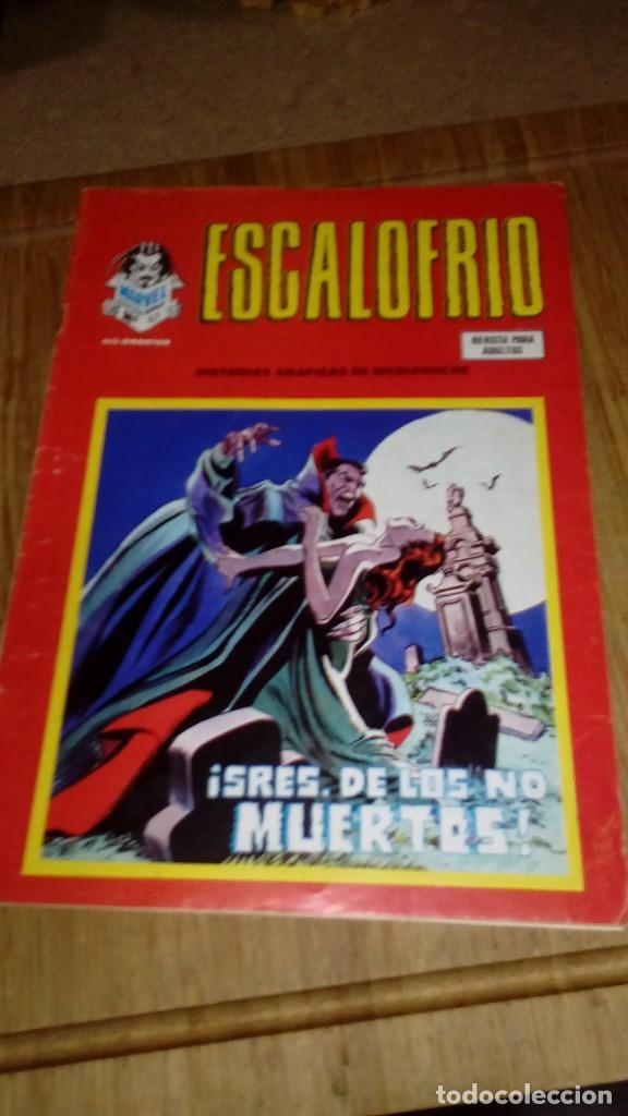 ESCALOFRIO Nº 67 ÚLTIMO DE LA COLECCIÓN (Tebeos y Comics - Vértice - Terror)